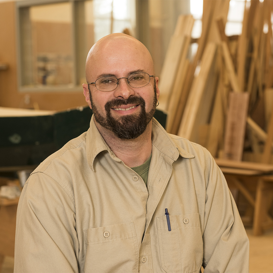 Wood Technology faculty Sam Laher