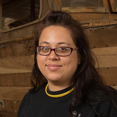 Wanda Cashman Marine Technology student